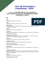 Glossario de Promocao e Merchandising