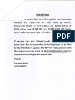 Reply - EPFO Apex Court Contempt Petition - HPTDC Union.pdf
