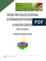Mejores Practicas de Los Sistemas de Refrigeracion Por Amoniaco en La Industria Cervecera Ismael Cruz