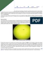 El Clima Espacial y Sus Efectos