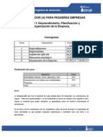 Cronograma Modulo I Admon de Empresas 2017 (2)