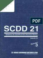 SCDD 21 Vol. 3 libro