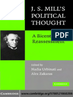 Nadia Urbinati, Alex Zakaras - J.S. Mill's Political Thought_ a Bicentennial Reassessment (2007)