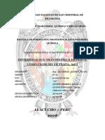 Informe 04 Determinacion Gavimetrica de La Plata