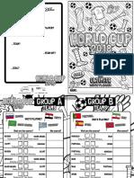 World Cup Match Planner RedTedArt