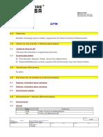 Instrucción de Uso de OTM