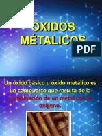OXIDOS MÉTALICOS