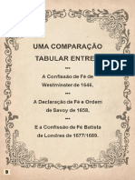 Uma Comparação Tabular Entre a CFW, DFO de Savoy, CFB de 1689_Don Lowe & James N. Anderson
