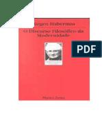 HABERMAS, Jürgen. O discurso filosófico da Modernidade (1).pdf