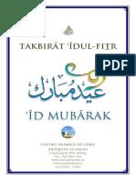 Takbirat Idul Fitr 1438