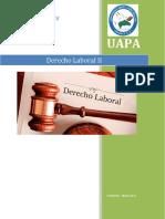 Derecho Laboral tarea V