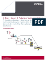 A History and Future of Instrumentation