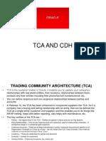Cdh and Tca Presentation