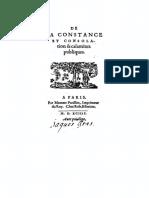 DU VAIR ¢ De la constance et consolation des calamitez publiques [FR] B [Parisson. Paris. 1594].pdf