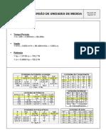 Conversor - Unidades de Medidas - Revisão 00