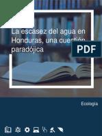 Lectura de Apoyo La Escasez Del Agua en Honduras