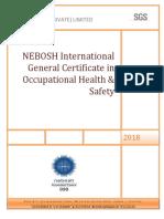 NEBOSH - IGC Registration Form [SGS]