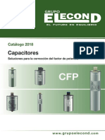 Catalogo Capacitores