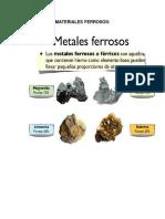 MATERIALES FERROSOS