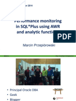 2014-Null-marcin Przepiorowski-performance Monitoring in SQL Plus Using Awr and Analytic Functions-praesentation
