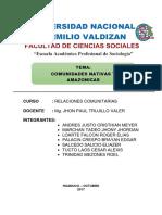 Comunidades Campesinas y Amazonicas