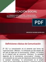 Generalidades sobre comunicación social