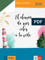 Katalog DaF Spanisch 2018