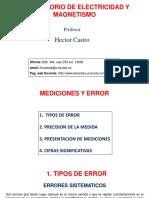 2. Mediciones y Error