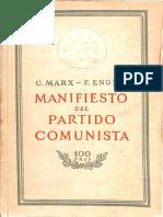 Manifiesto Del Partido Comunista Marx - Engels