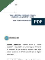 Clase 02 Sistemas Procesales Penales