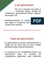 Tipos de Optimizacion