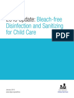 Bleach-Free Disinfection and Sanitizing for Child Care