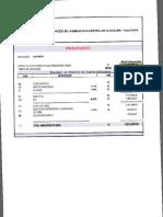 Resumen Presupuesto Modificado Biblioteca