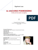 LANZ El Discurso Posmoderno
