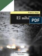 El nihilismo. Volpi..pdf
