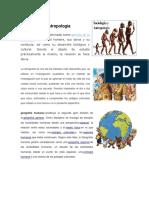 Sociología y Antropología