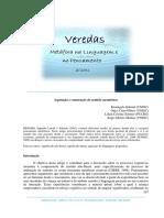 Aquisição e Construção Do Sentido Metafórico (GABRIEL Et Al., 2011)
