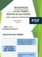 Gestion de Proyectos - Clase V