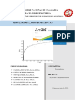 Manual Sobre Intalación de Arcgis V