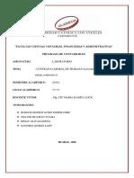 EL CONTRATO DE TRABAJO-Actividad N° 08 Informe de trabajo colaborativo