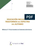 Educacion Inclusiva Trastorno Del Espectro Del Autismo