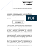 02068095 Teórico 8 - Noción Intuitiva de Consecuencia Lógica. La Noción de Consecuencia de La Lógica Proposicional