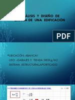 Análisis  y  diseño  de  zapata de  una  edificación.pptx
