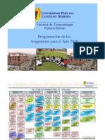 Plan de Estudios 2010 - 1er y 2do Semestre