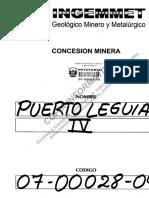 PUERTO LEGUIA IV