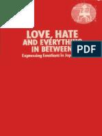 Love, Hate and Everything in Between - Mamiko Murakami