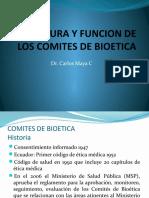 ESTRUCTURA Y FUNCION DE LOS COMITES DE BIOETICA.pptx