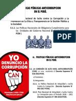 POLITICAS PÚBLICAS ANTICORRUPCION