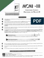 Cuadernillo 2 MCMI III