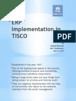 ERP Implementation in TISCO